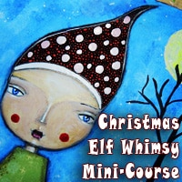 Christmas Whimsy Mini-Course by Iris from Iris-Impressions.com