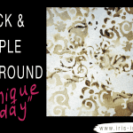 Technique Tuesday – Quick & Simple Background With Distress Ink