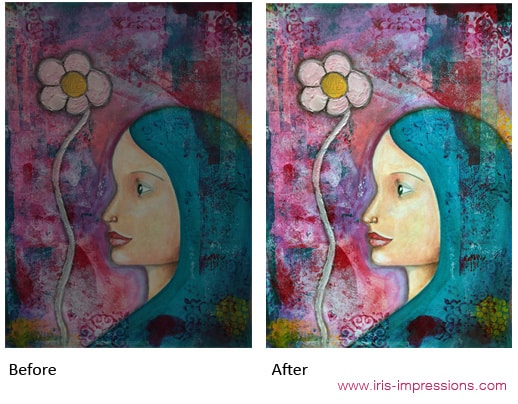 Photo of Painting & Adjusted in Photoshop. © www.iris-impressions.com @rrreow #editingart #photoshop