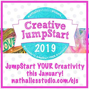 Creative JumpStart Mixed Media Art Course 2019